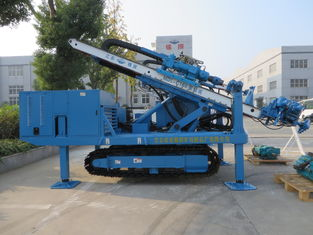 MDL-C160 High Impact Frequency Anchor Drilling Rig Hydraulic System High Power Virbration Foundation